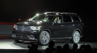 2014 Dodge Durango, Front-quarter view, exterior, manufacturer, gallery_worthy