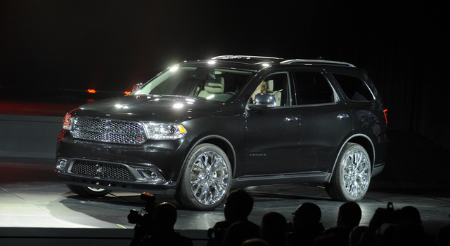 2014 Dodge Durango, Front-quarter view, exterior, manufacturer
