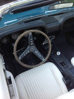 picture of 1969 ford mustang base convertible interior - 1969 Ford Mustang Interior