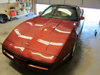 1987 Chevrolet Corvette Coupe, Picture of 1987 Chevrolet Corvette Base, exterior