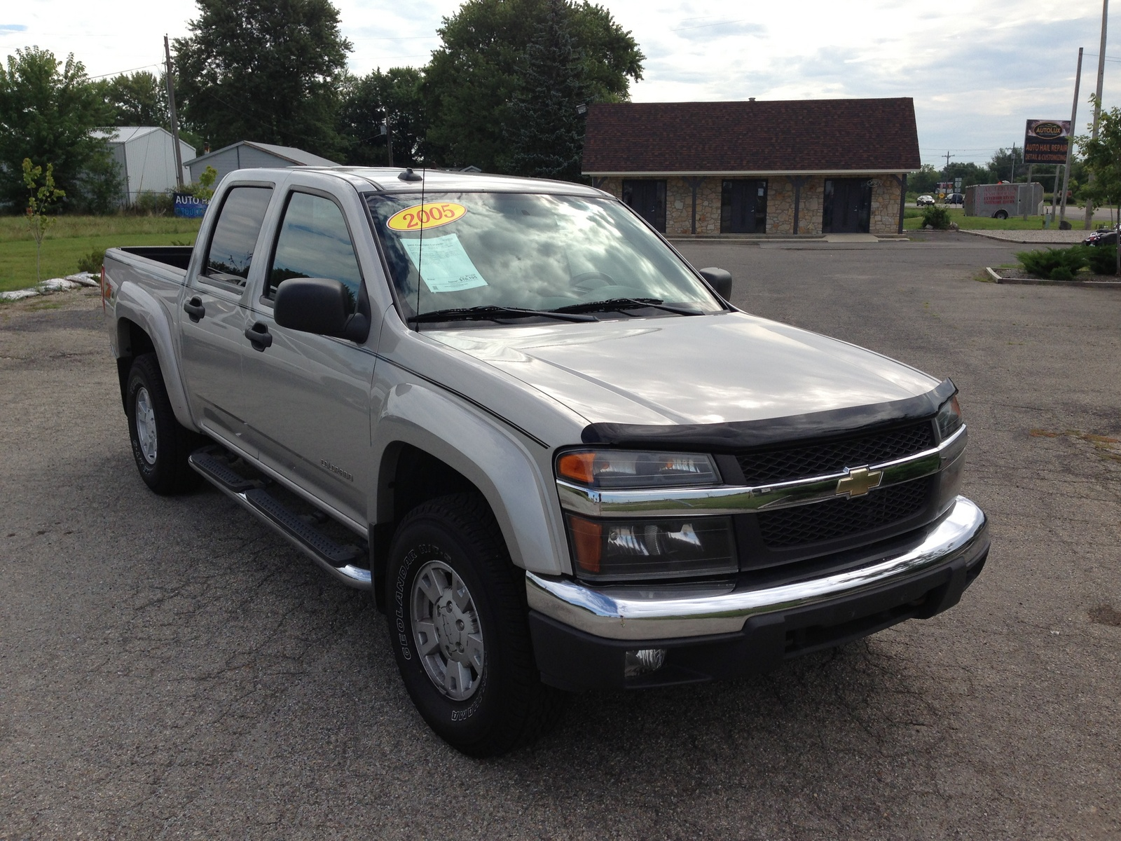 picture of 2005 chevrolet colorado 4 dr z71 ls crew cab sb exterior. Cars Review. Best American Auto & Cars Review