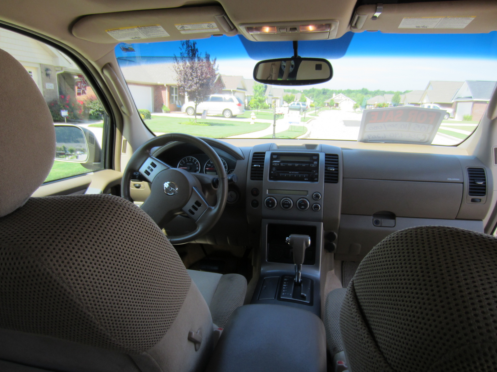 Nissan Pathfinder 2005 Interior The Image Kid Has It