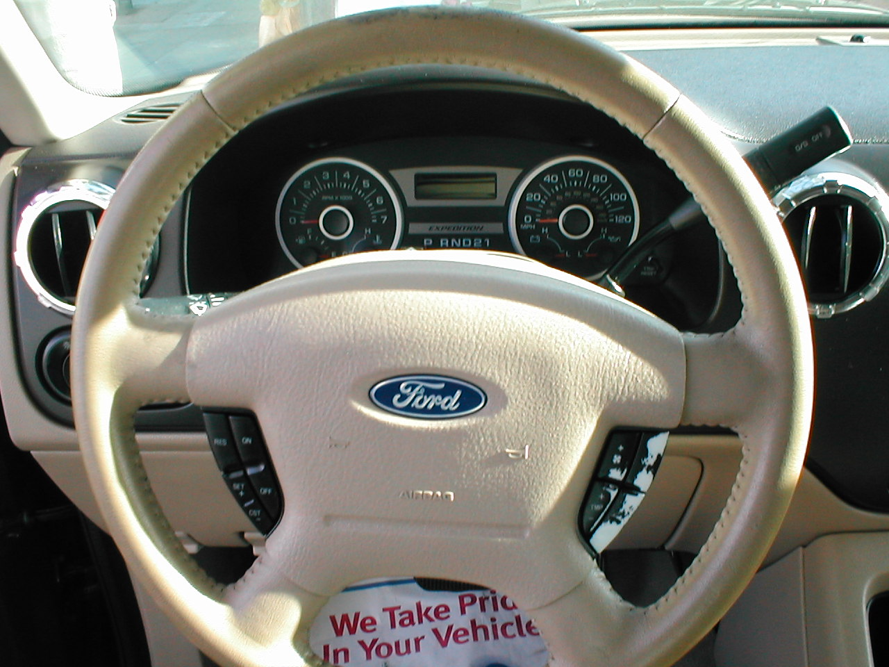 2005 Ford Expedition Interior Dimensions