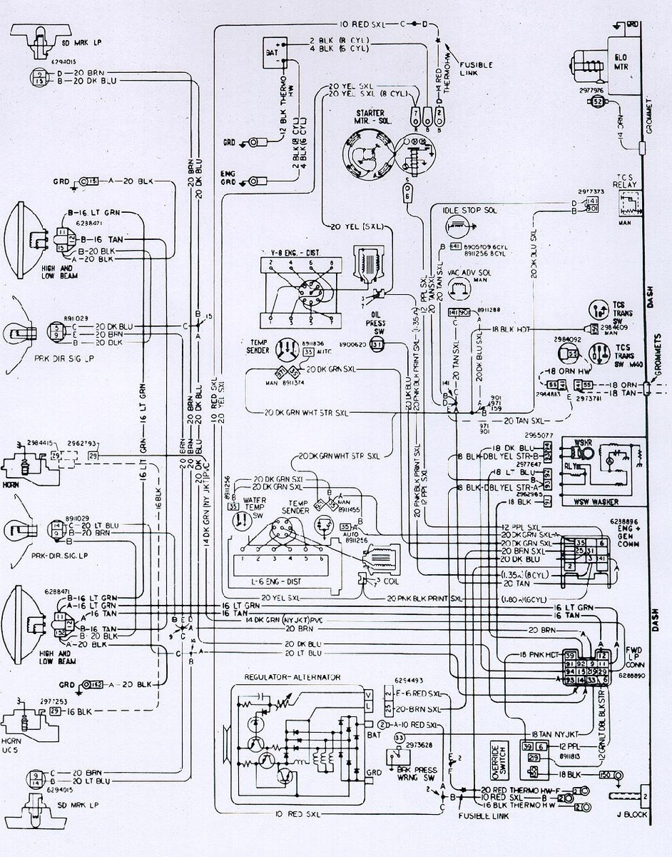 chevrolet vega 4 cylinder engine wiring diagram   47