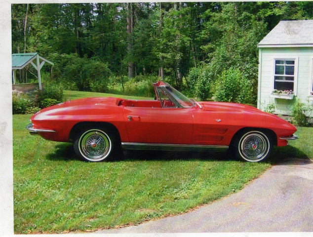 Picture of 1963 Chevrolet Corvette Convertible Roadster, exterior, gallery_worthy