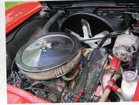 Picture of 1963 Chevrolet Corvette Convertible Roadster, engine