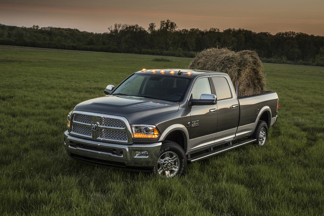 2013 Ram 3500, Front-quarter view, exterior, manufacturer, gallery_worthy