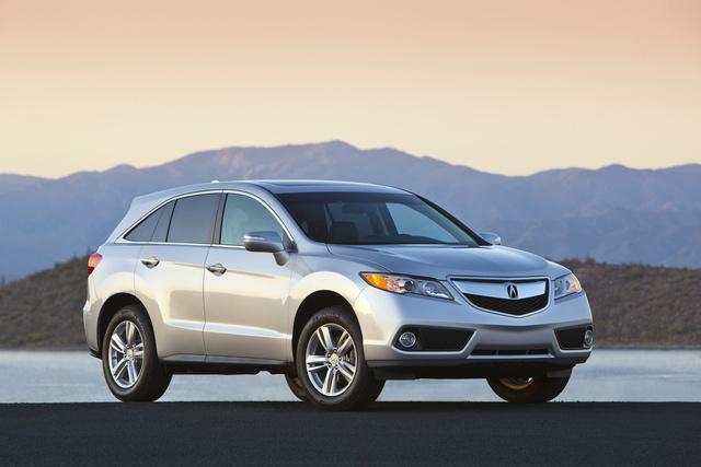 2014 Acura RDX, Front-quarter view, exterior, manufacturer