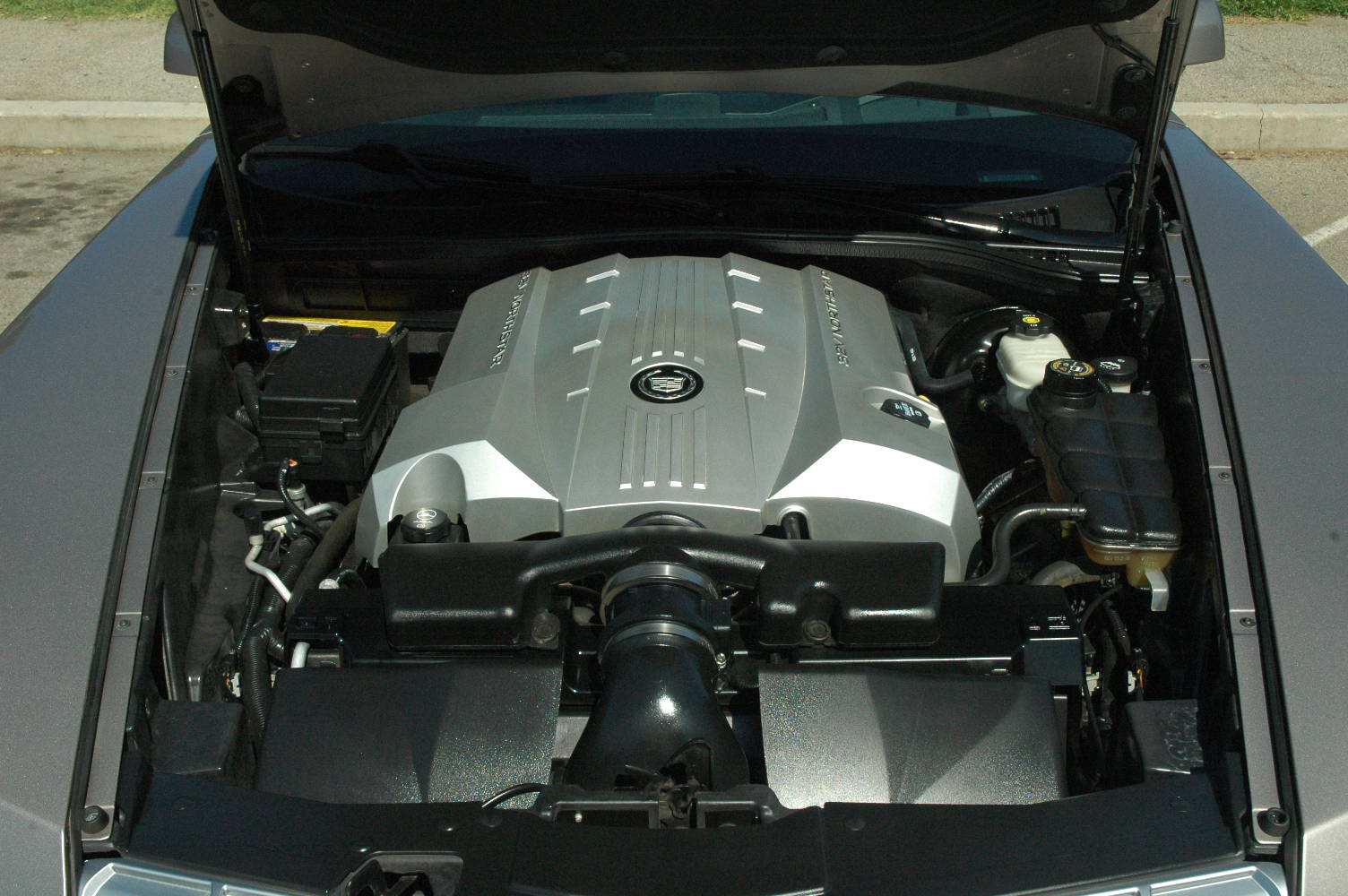 Picture of 2004 Cadillac XLR 2 Dr STD Convertible, engine
