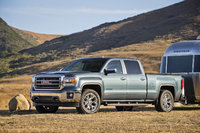 2014 GMC Sierra 1500, Front-quarter view. Copyright General Motors, exterior, manufacturer