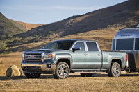 2014 GMC Sierra 1500, Front-quarter view. Copyright General Motors, manufacturer, exterior