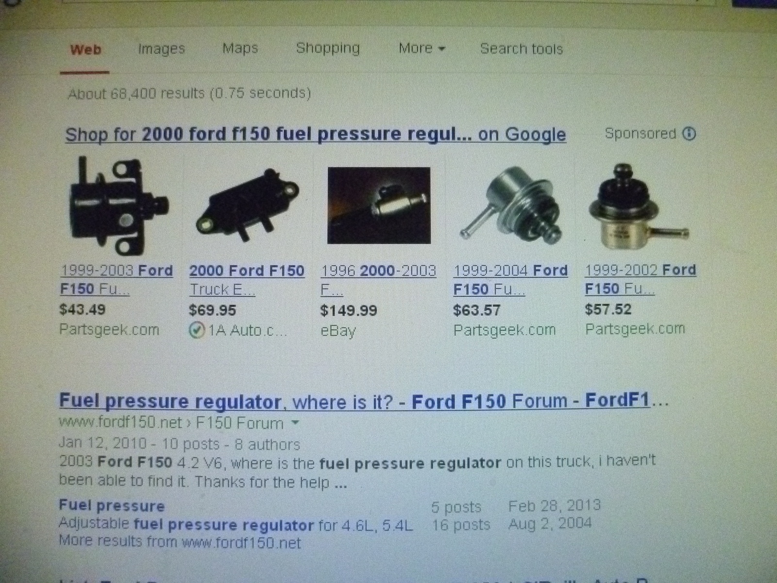 Ford F 150 Questions I Have A 2000 F150 Xlt 4 Wheel Drive 88 Mustang Fuel Filter Location 5 Answers