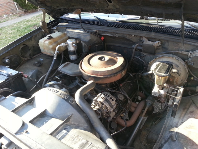 Picture of 1991 GMC Sierra C/K 1500, engine