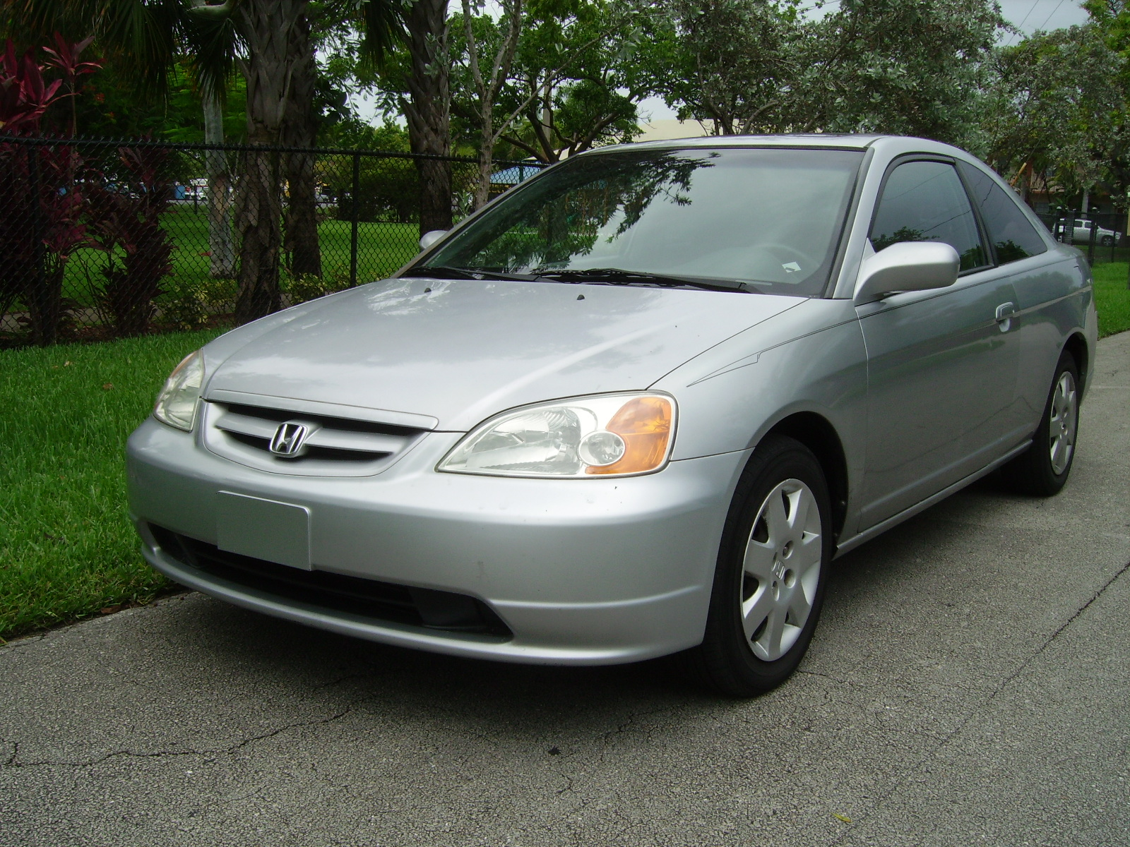 Picture of 2001 honda civic ex coupe exterior
