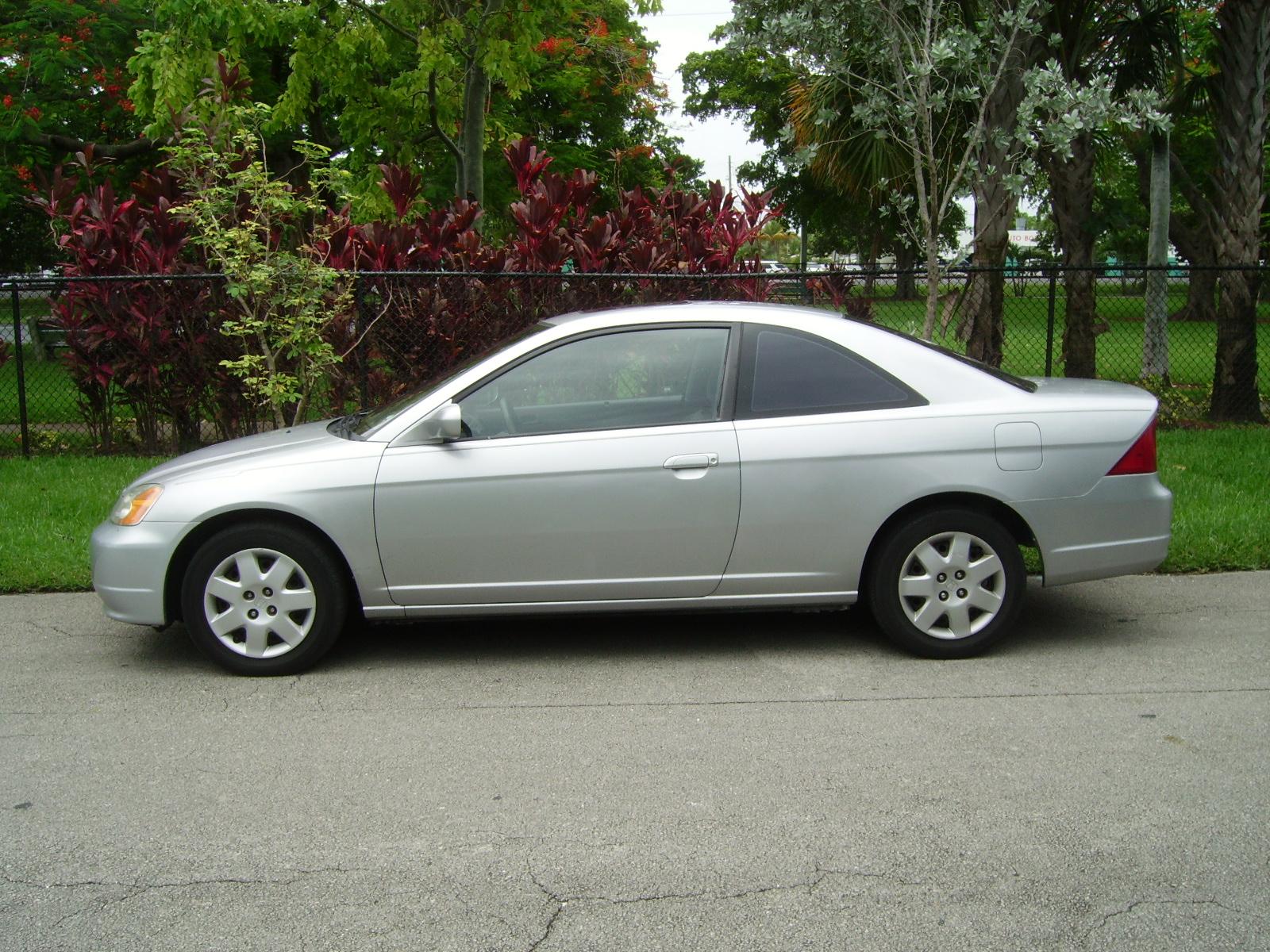 Picture of 2001 Honda Civic EX Coupe, exterior