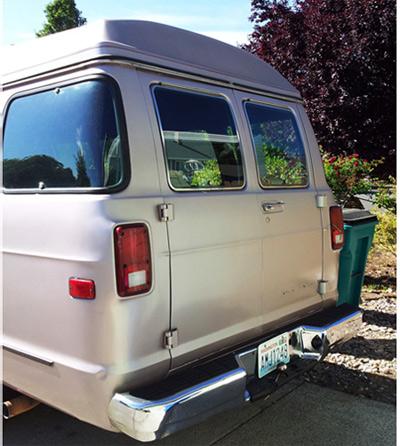 Picture of 1990 Dodge Ram Van 3 Dr B350 Cargo Van Extended