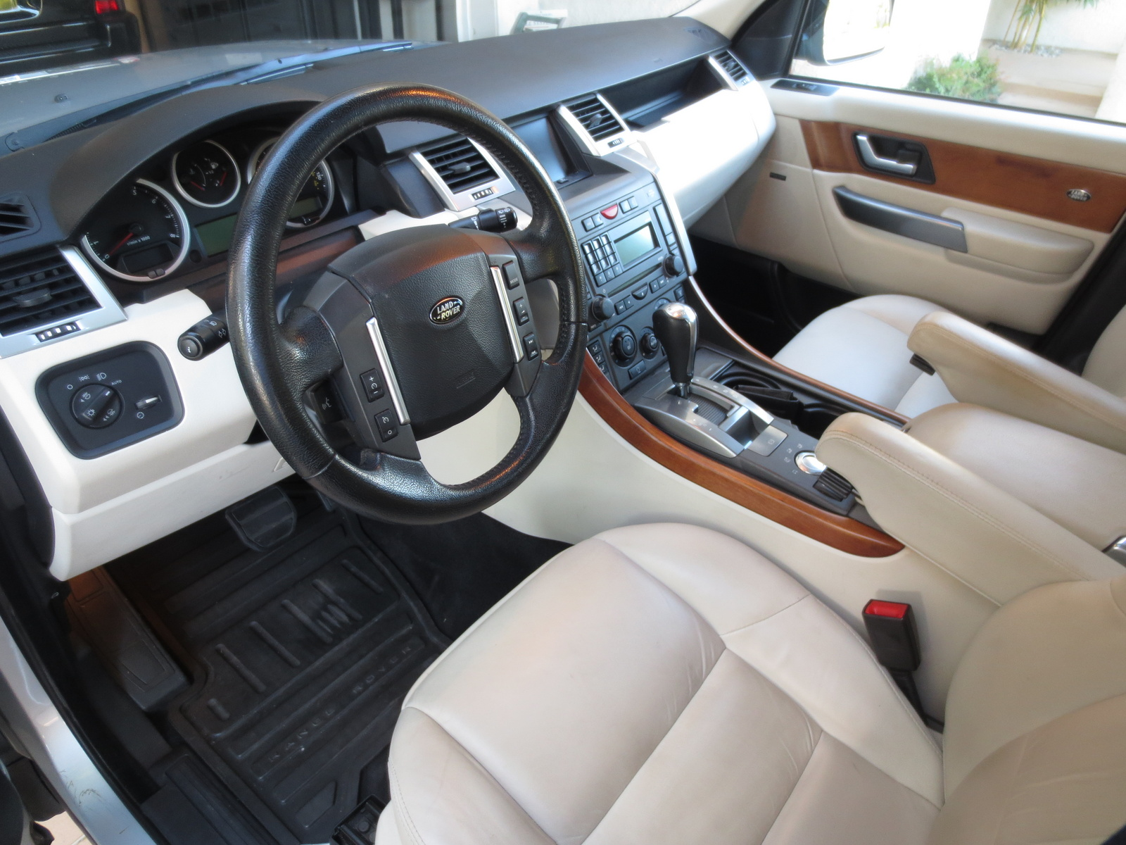 2007 land rover range rover sport interior pictures for Interior range rover