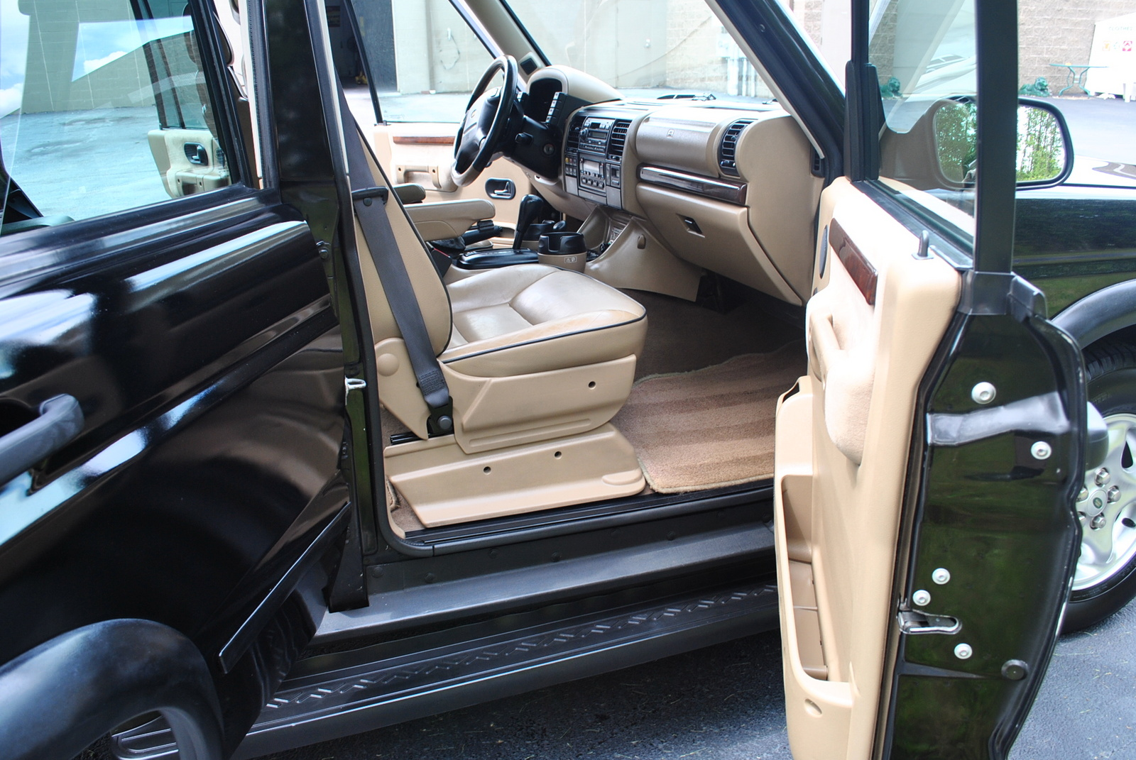 2001 Land Rover Discovery Series Ii Interior Pictures Cargurus