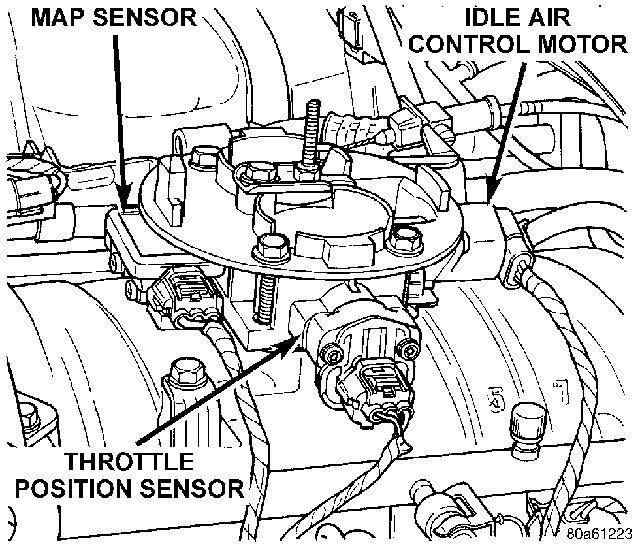 dodge dakota questions where is the iac valve on a 1995 dakota 07 Dodge Ram Head Unit 3 answers