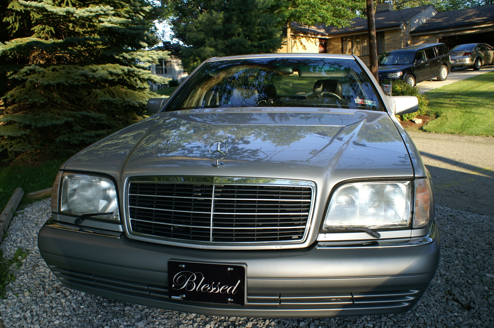 Picture of 1995 mercedes benz s class 4 dr s500 sedan for Mercedes benz 1995