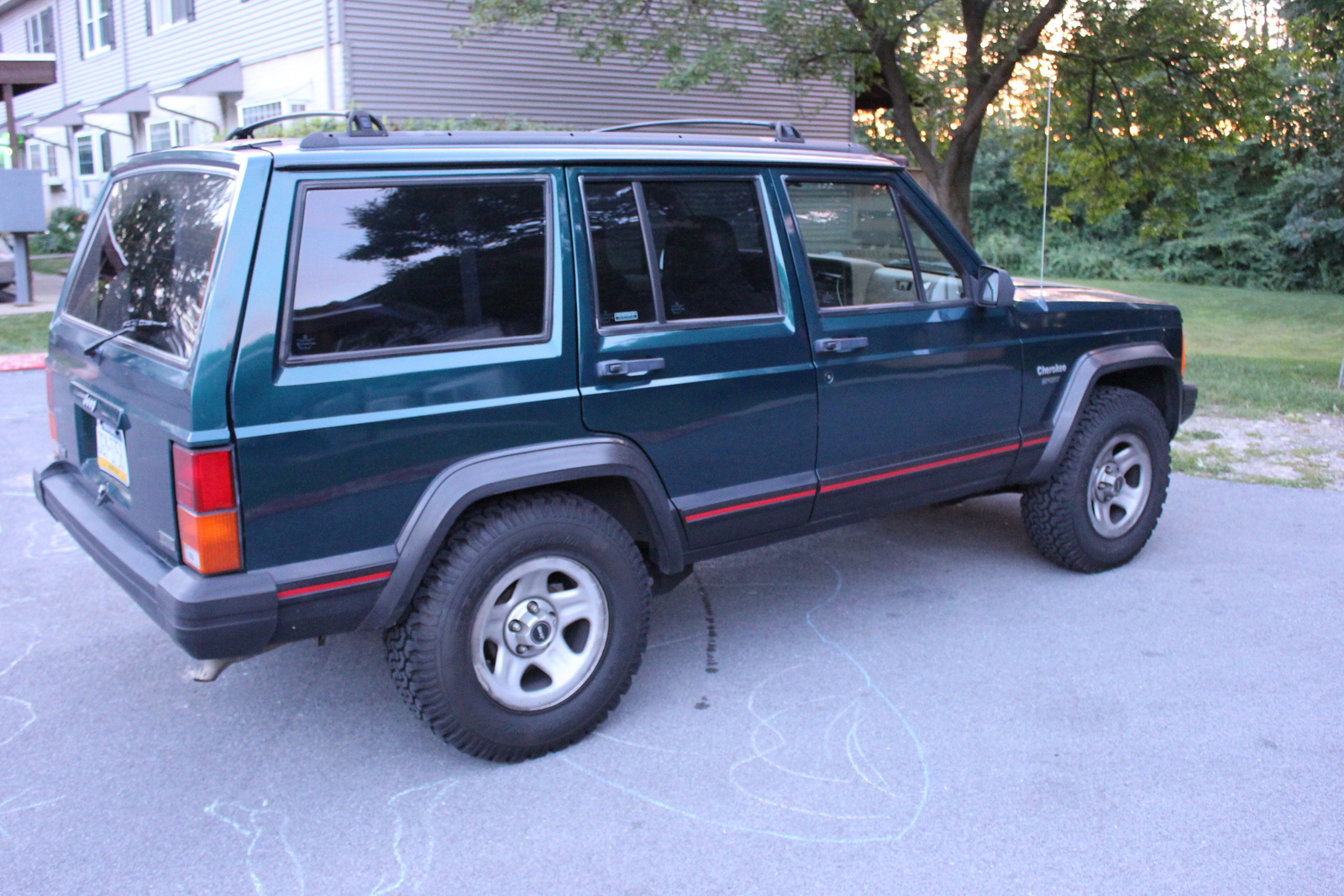 1996 jeep cherokee specifications cargurus. Black Bedroom Furniture Sets. Home Design Ideas