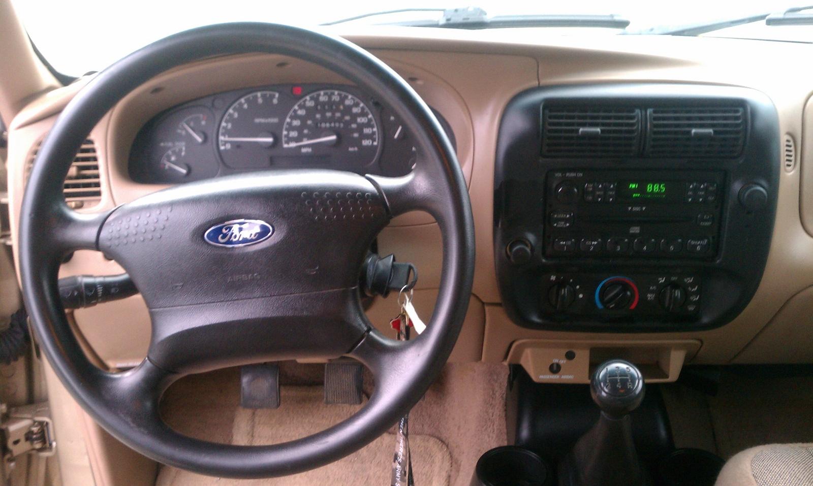 2002 - 2002 Ford Ranger Interior