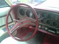 1978 Mercury Cougar, interior
