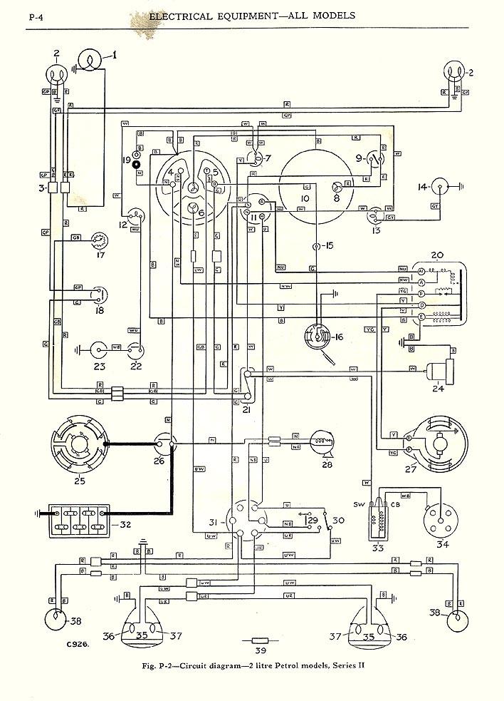 Austin Healey 3000 Wiring Diagram Diagram Auto Wiring