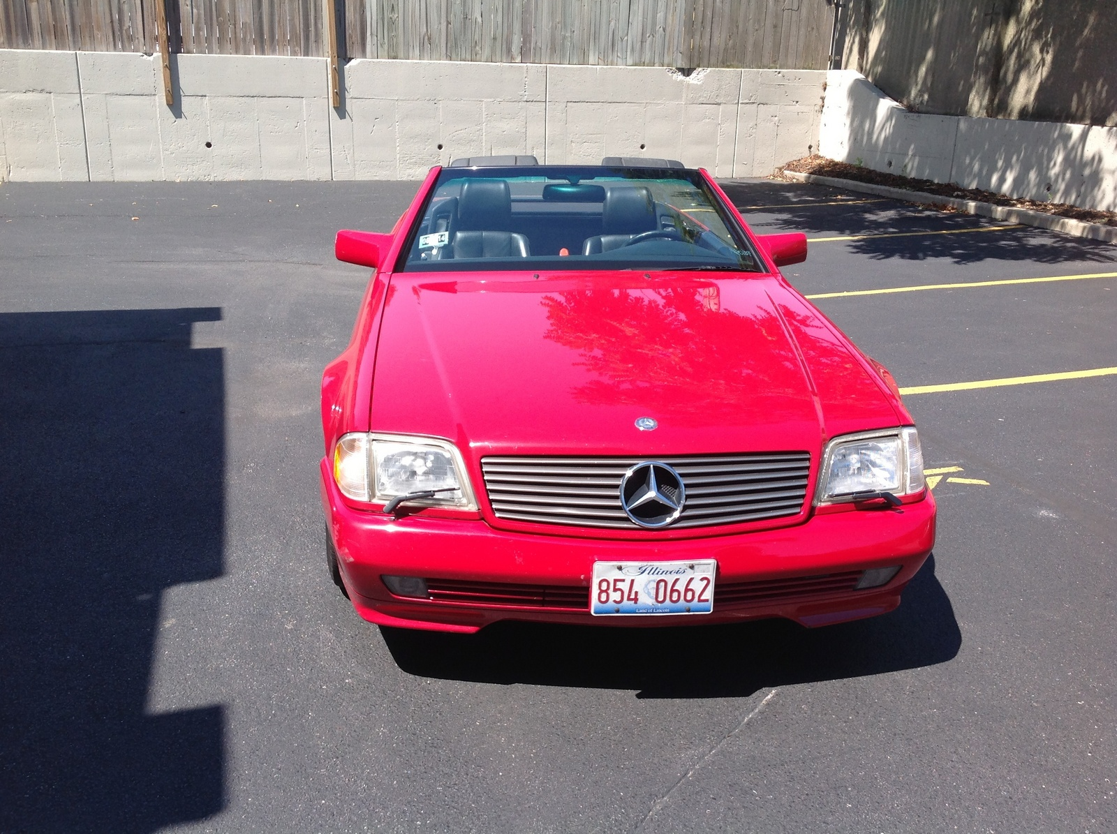 Picture of 1995 mercedes benz sl class 2 dr sl320 convertible for 1995 mercedes benz sl500