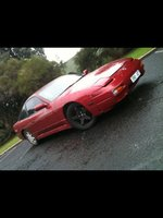 2000 Holden Commodore, 2nd Nissan 180sx CA18 stock apart from turbo after stock, exterior
