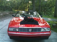 1992 Cadillac Allante Base Convertible, Mason Chillin on the Alante, exterior