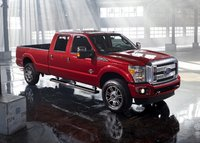 2014 Ford F-350 Super Duty, Front-quarter view, exterior, manufacturer, gallery_worthy