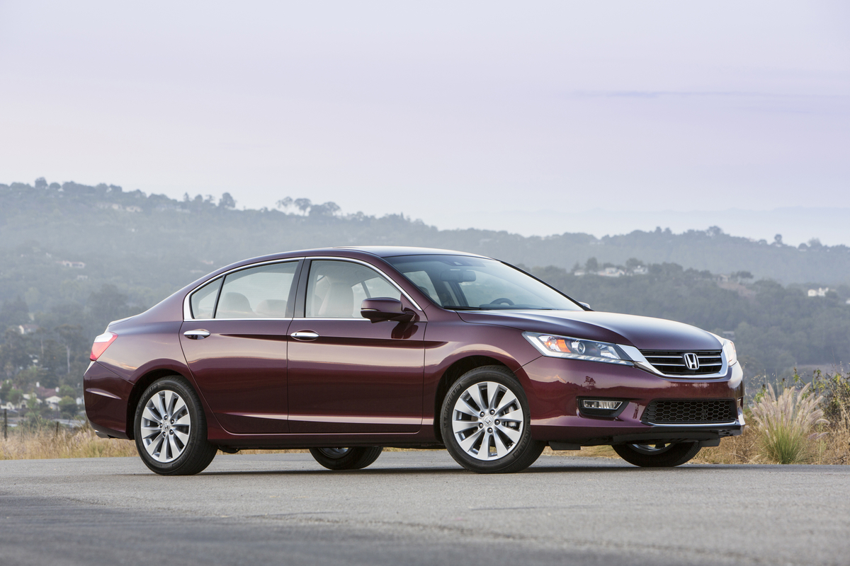 2014 Honda Accord, Front-quarter view, exterior, manufacturer