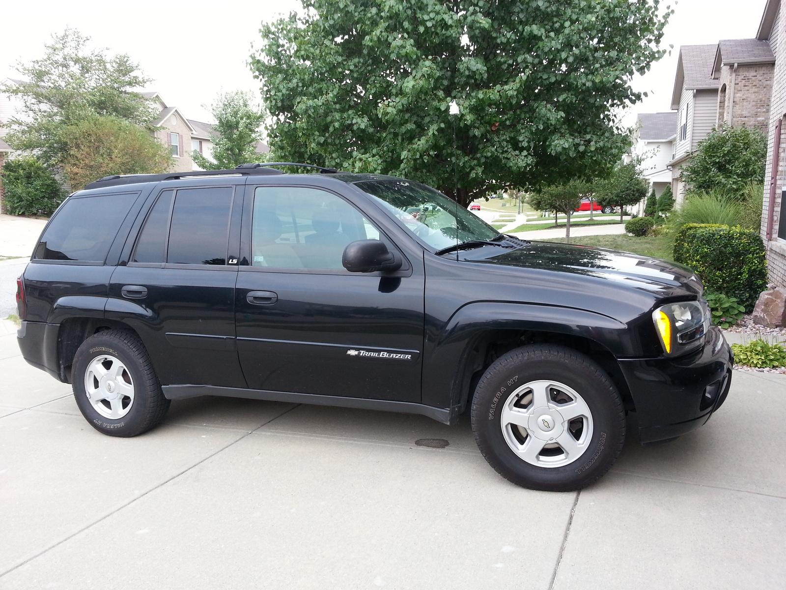 picture of 2002 chevrolet trailblazer ls 4wd exterior. Cars Review. Best American Auto & Cars Review