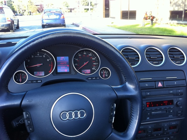 Who Owns Audi >> 2003 Audi A4 - Interior Pictures - CarGurus
