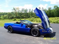 Picture of 1996 Chevrolet Corvette Grand Sport Convertible, exterior, engine