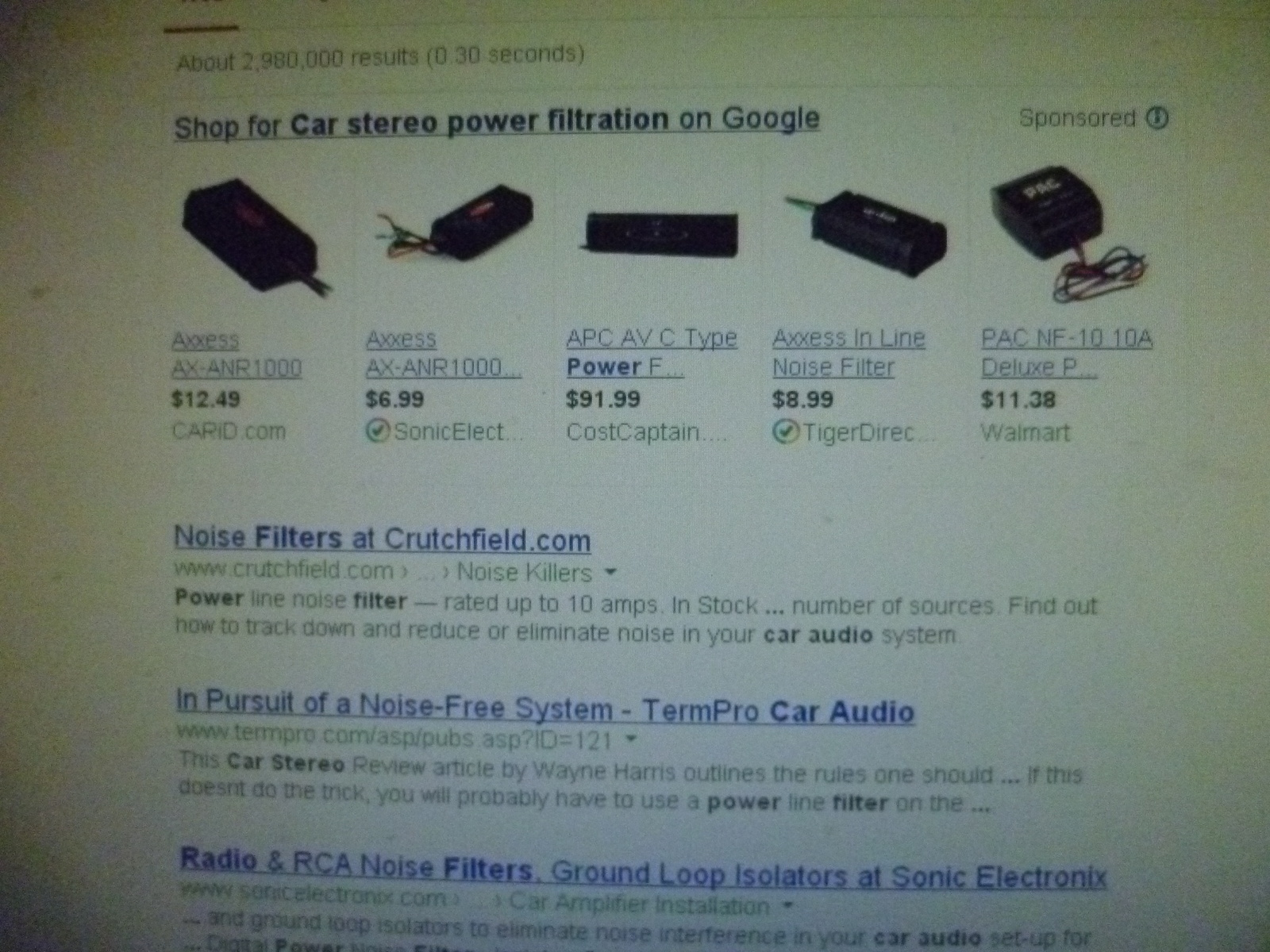 Cadillac Eldorado Questions Electrical Whineing Noise Cargurus Filter For Stereo System 2 People Found This Helpful