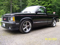 1992 GMC Sonoma 2 Dr SLE Standard Cab SB picture, exterior