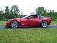2010 Chevrolet Corvette ZR1 3ZR, 2010 ZR1, Crystal Red Metallic, exterior