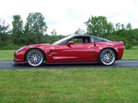 2010 Chevrolet Corvette ZR1 3ZR, 2010 ZR1, Crystal Red Metallic, exterior
