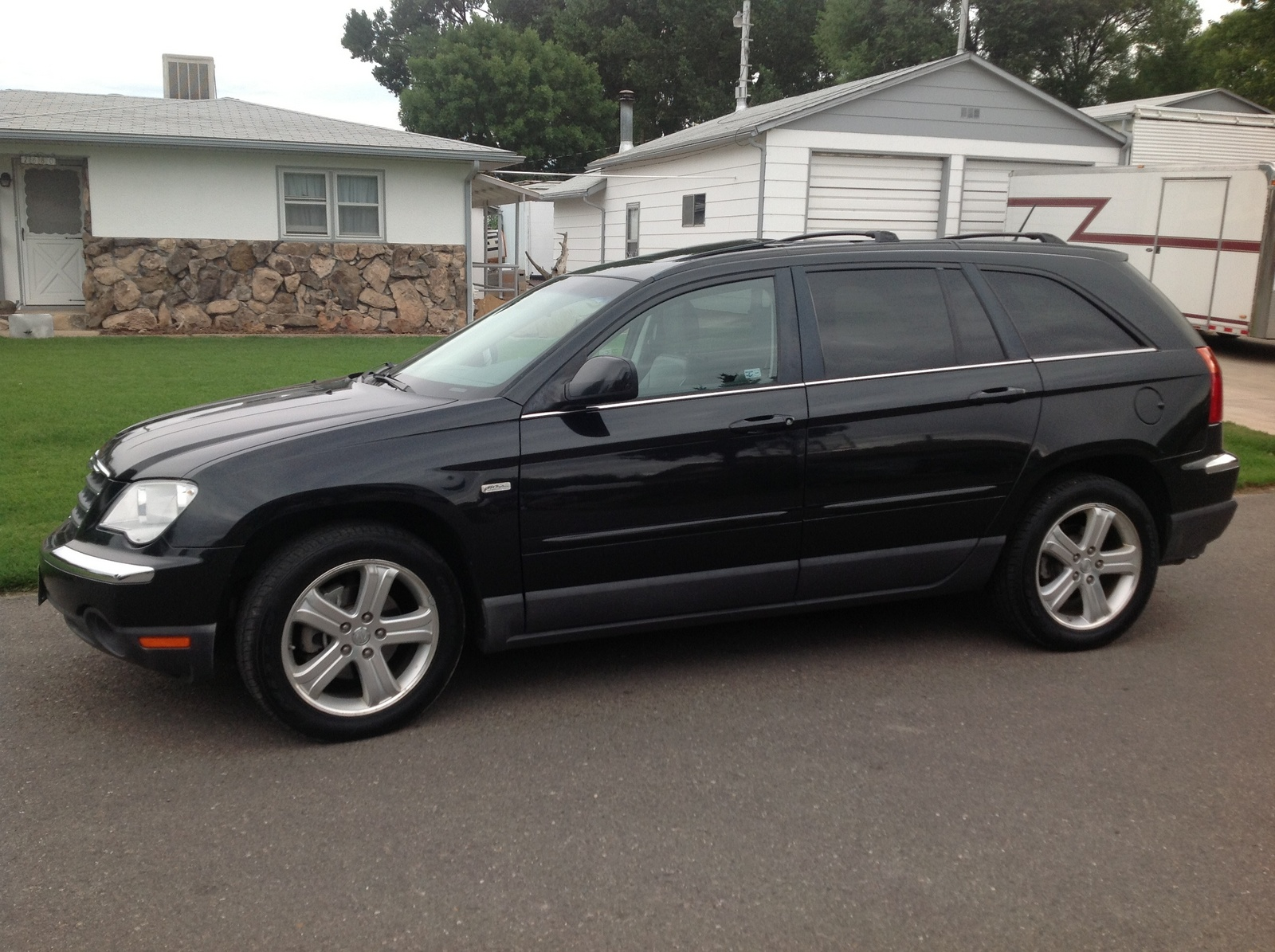 picture of 2007 chrysler pacifica 4 dr touring signature series awd. Cars Review. Best American Auto & Cars Review
