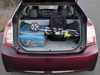 2013 Toyota Prius, Roomy cargo area, form_and_function, interior