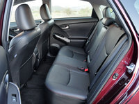 2013 Toyota Prius, Rear seats, safety, interior