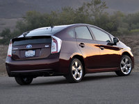 2013 Toyota Prius, Another view from the rear, exterior