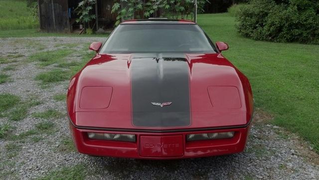 1986 Chevrolet Chevette 2 Dr CS, 1986 Chevrolet Corvette, exterior