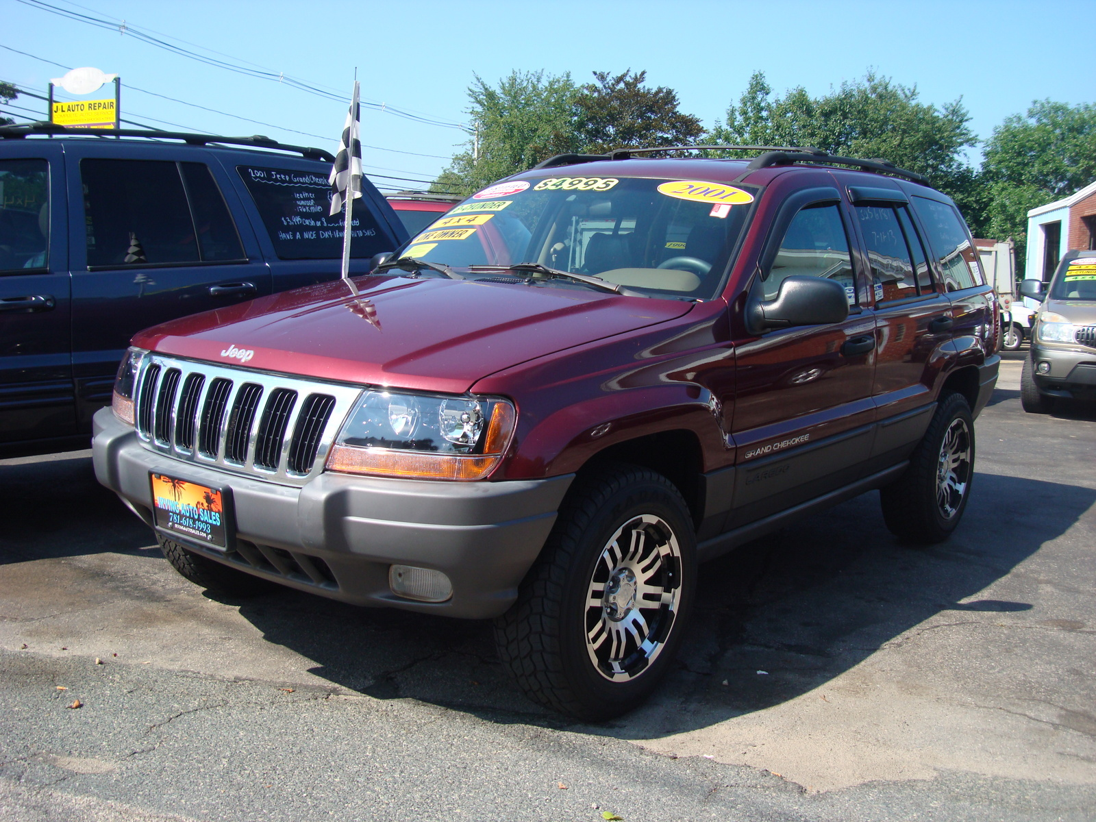 pics photos used 2001 jeep grand cherokee laredo. Cars Review. Best American Auto & Cars Review