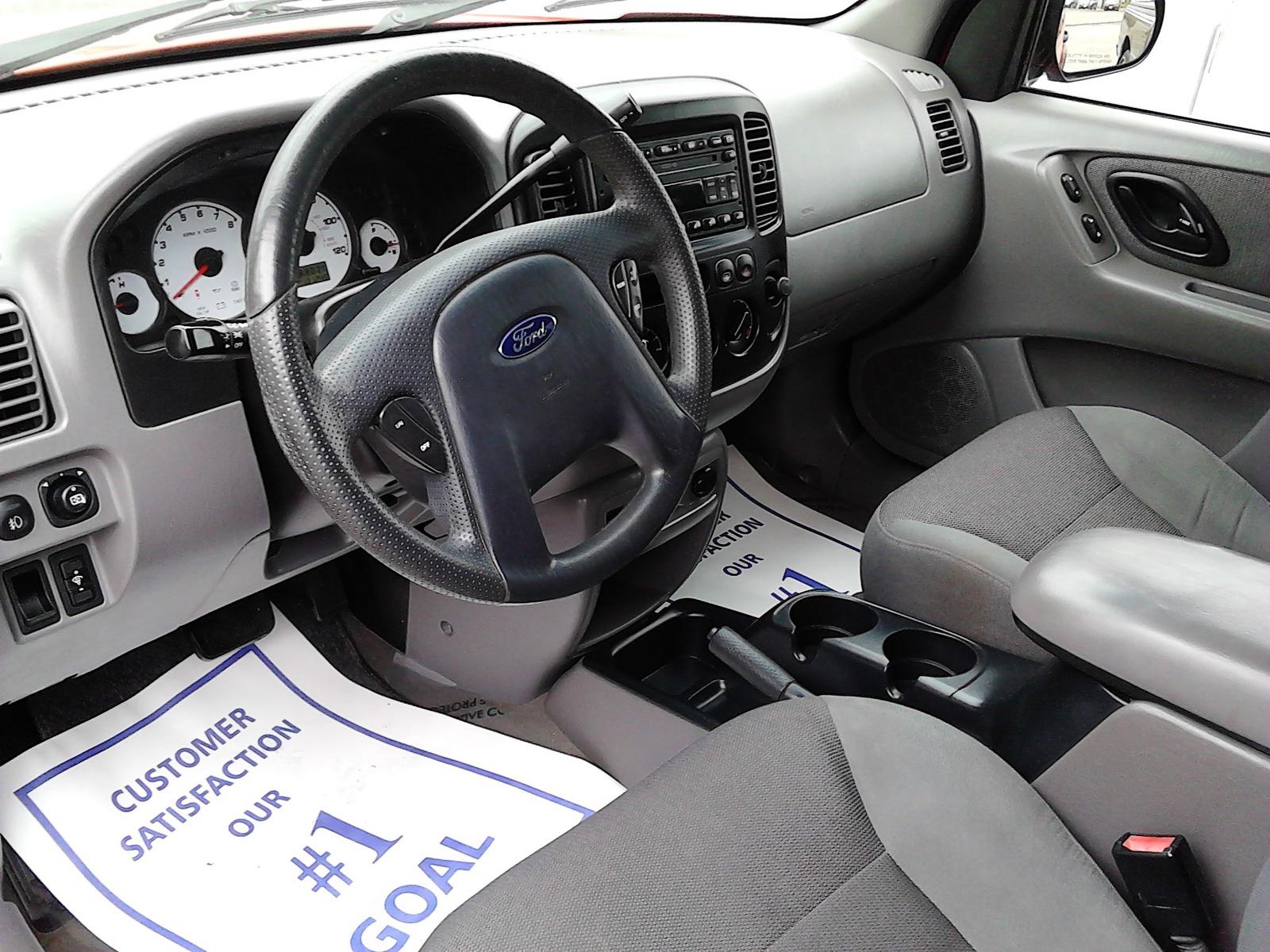 2002 Ford Escape Interior Dimensions