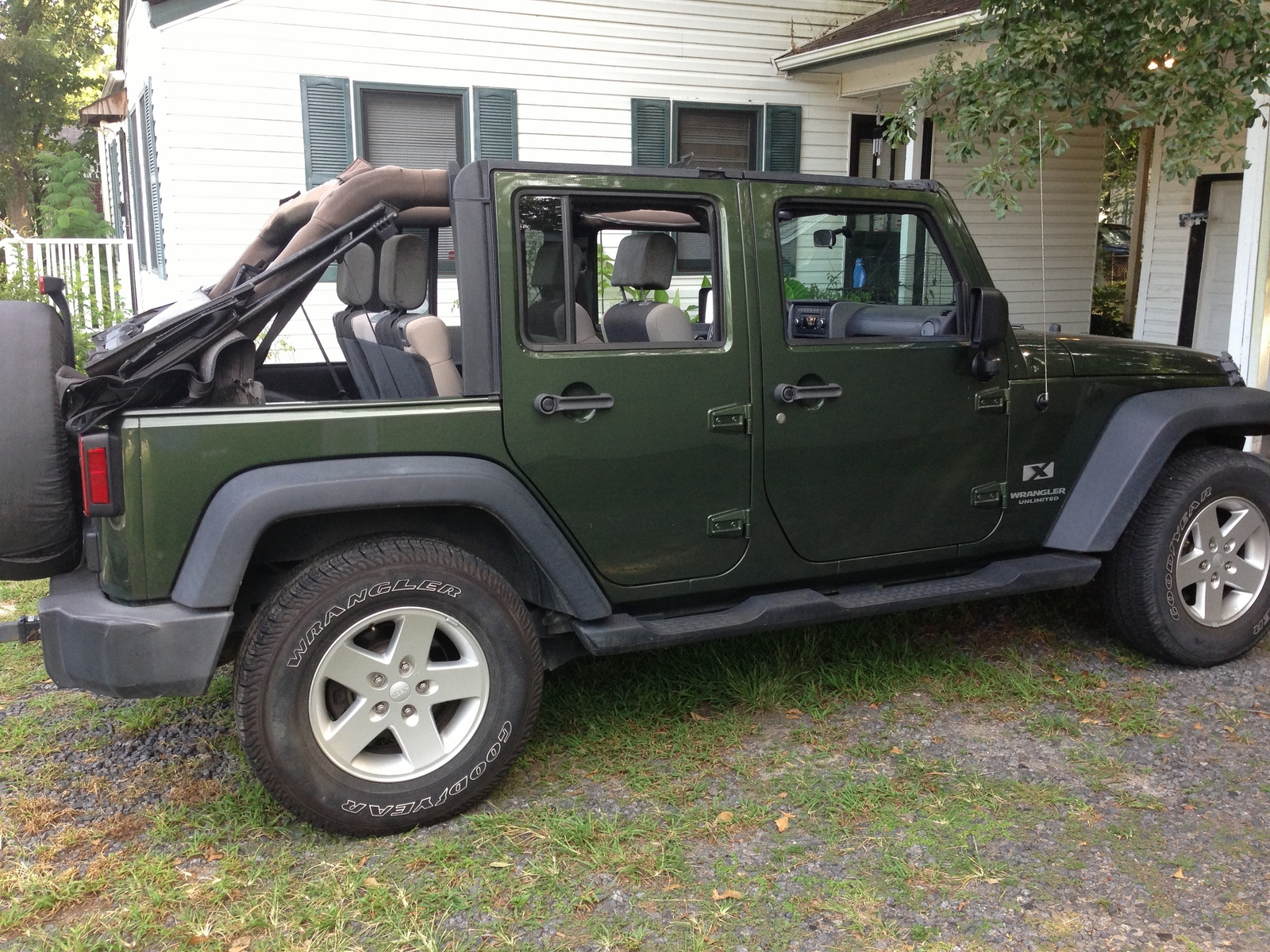 picture of 2007 jeep wrangler unlimited x exterior. Cars Review. Best American Auto & Cars Review
