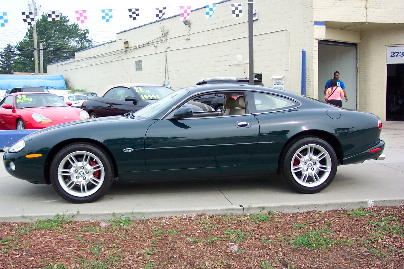 2001 Jaguar XK-Series - Trim Information - CarGurus
