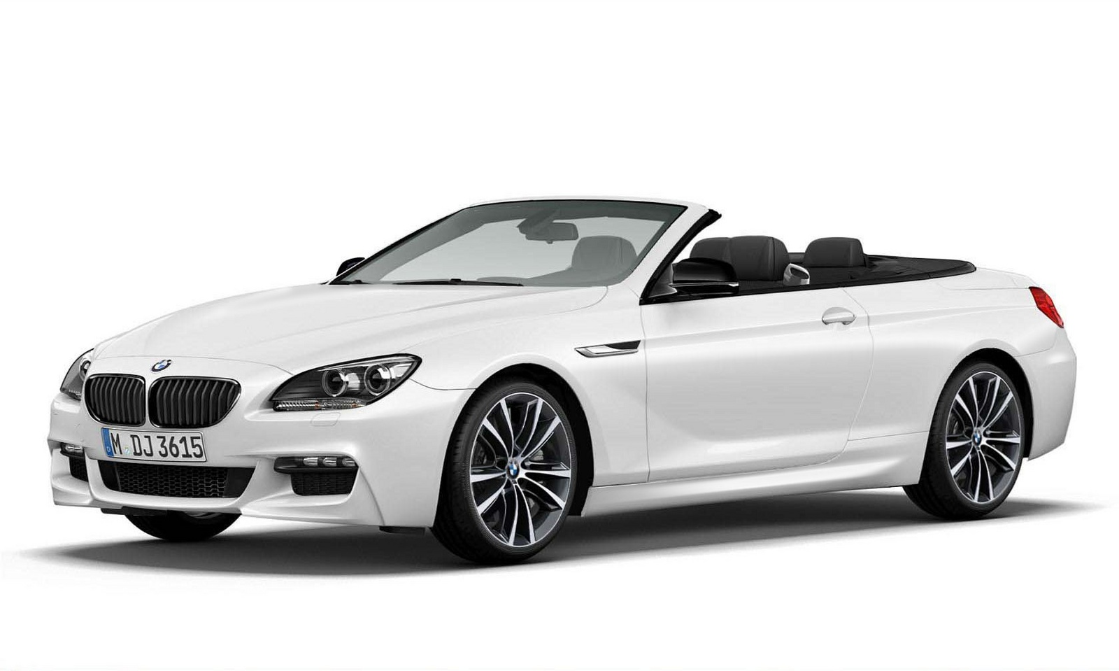 2014 BMW 6 Series, Front-quarter view, exterior, manufacturer